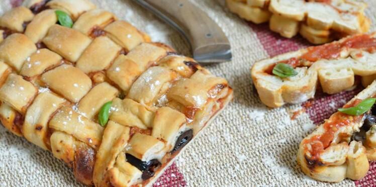 Coup de cœur blog : la pizza tressée