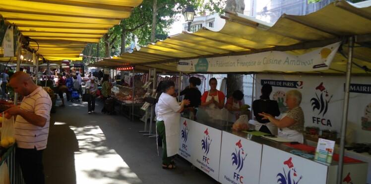 Cours de cuisine gratuits sur les marchés de Paris