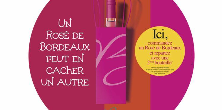 Deux rosés de Bordeaux, pour le prix d'un !