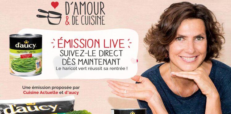 D'amour & de cuisine : l'émission en live !