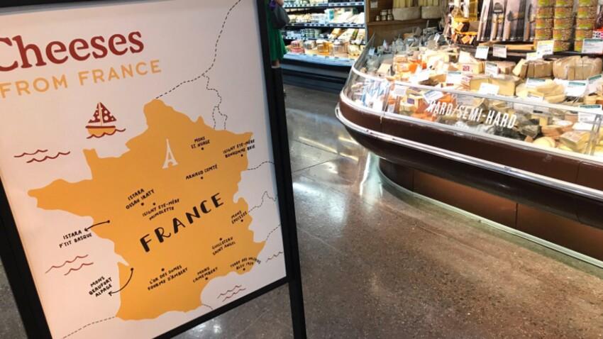 Etats-Unis : une carte des fromages français truffée d'erreurs amuse la Toile