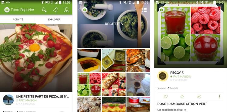 Food Reporter : le réseau des gourmands enfin sur Android !