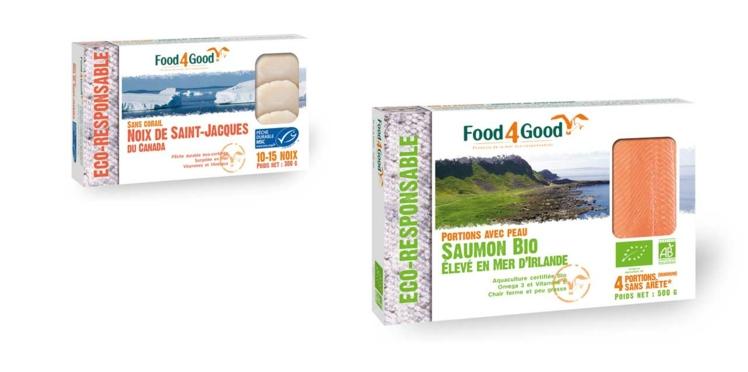 Food4Good : les surgelés de la mer éco-responsables !
