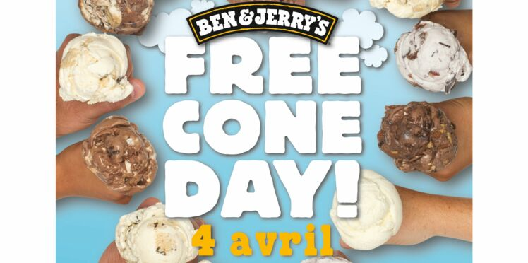 Le 4 avril, dégustez des glaces gratuites avec Ben & Jerry's