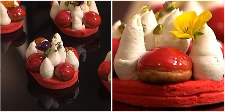 Voulez-vous apprendre à réaliser un Saint-Honoré à la fraise ?
