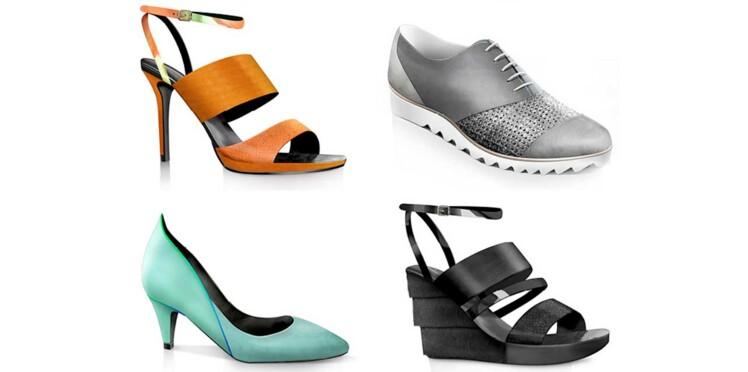 Gontran Cherrier dessine des chaussures pour les ateliers Tersi !