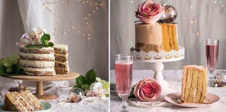 Gâteaux féériques à l'honneur pour les fêtes
