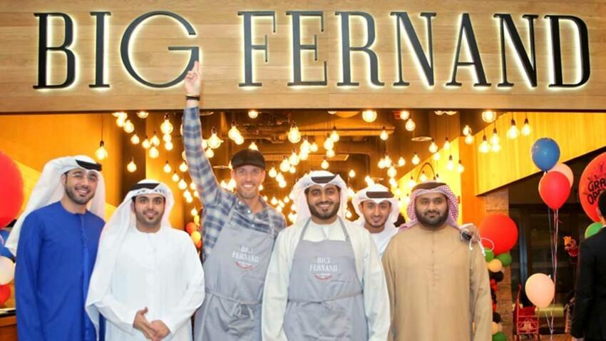 Les hamburgés Big Fernand à la conquête de Dubaï