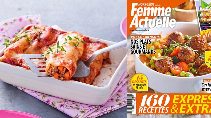 Le Hors Serie Special Cuisine Express Est En Kiosque Femme