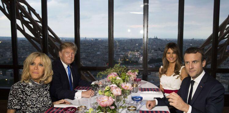Photo - Un montage de Melania Trump qui pose sa main sur la cuisse d'Emmanuel Macron fait le buzz