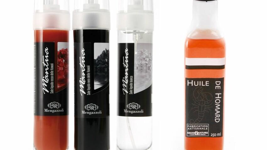 Sel liquide, poivre de cassis et huile de homard : 3 innovations en cuisine