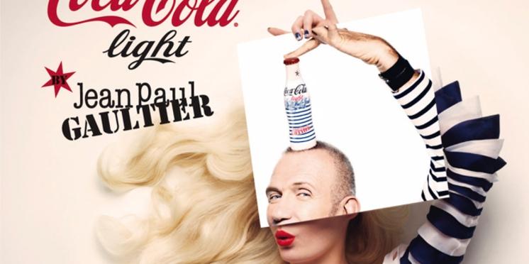 Coca-Cola Light défile en Gaultier