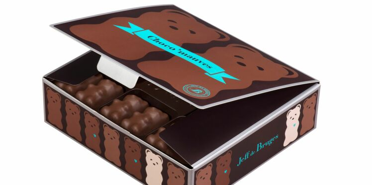 Jeff de Bruges réinvente les oursons en chocolat