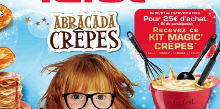 """Du 2 janvier au 10 février 2014, gagnez un kit """"Magic Crêpes"""""""