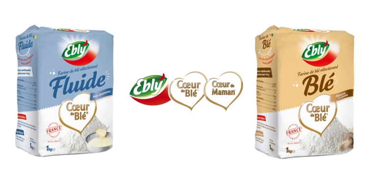 La farine 100% française signée Ebly®