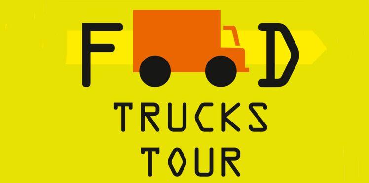 """Le """"food truck tour"""" à Paris et Marseille."""