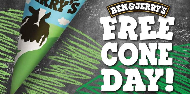 Bon plan: le Free cone day 2016 de Ben&Jerry's revient nous régaler