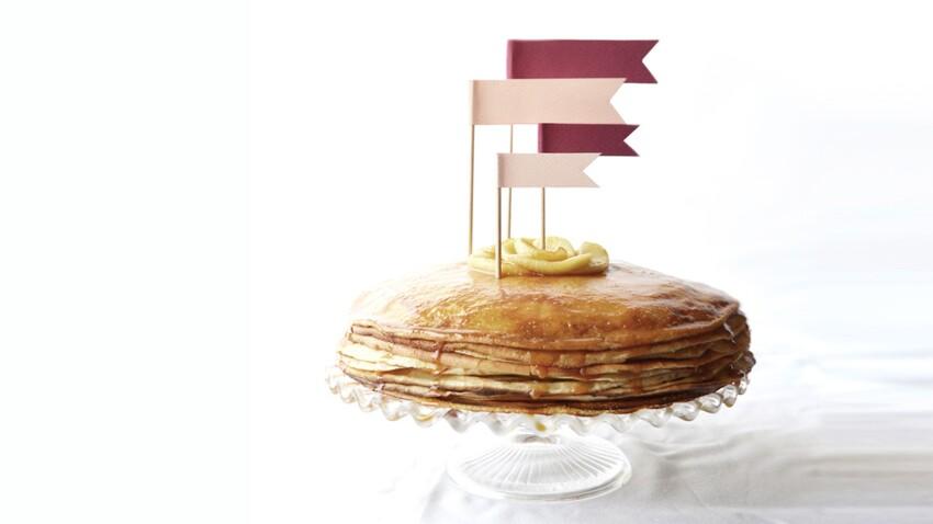 Coup de coeur blog : le gâteau de crêpes