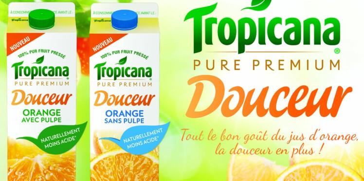Le nouveau jus d'orange pure douceur arrive !