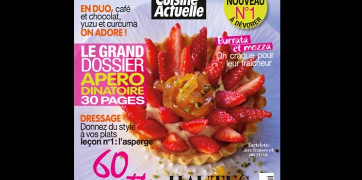 Intense, le nouveau magazine de cuisine en kiosque le 9 mai