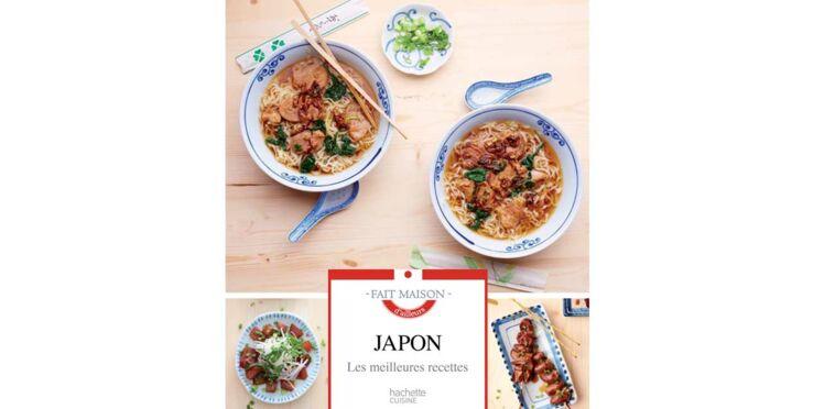 Ce livre spécial recettes japonaises va vous faire voyager...