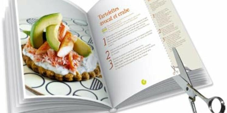 Découvrez les livres de cuisine à découper