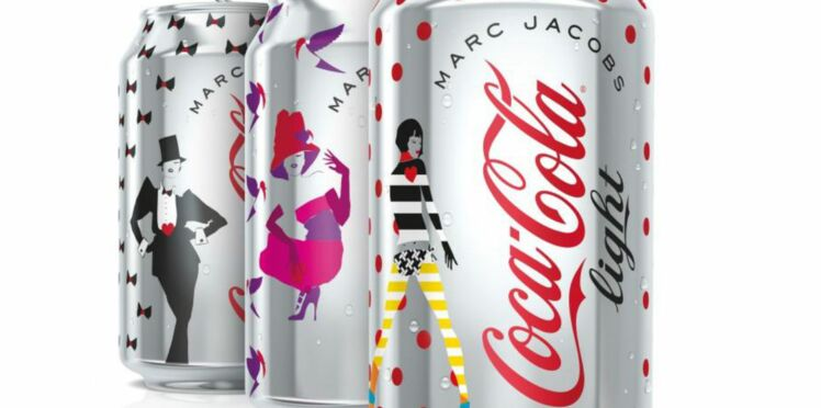 Marc Jacobs habille Coca-Cola light