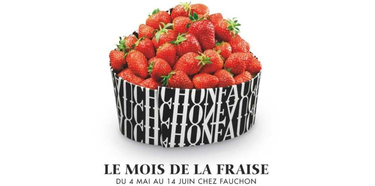 Le mois de la fraise débarque chez Fauchon !
