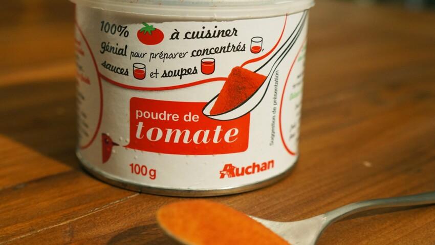 Poudre de tomate : bluffante ?