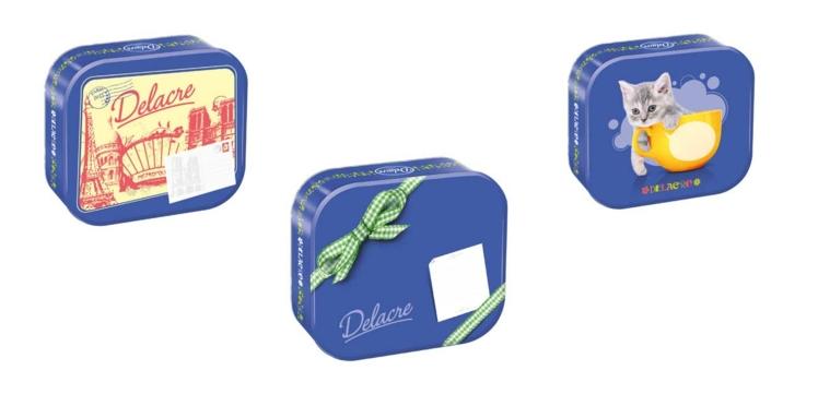 On craque pour les nouvelles boîtes Delacre à personnaliser !