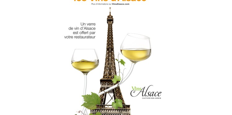 Jusqu'au 9 juin Paris fête les vins d'Alsace