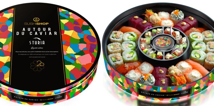 Pour ses 20 ans, SushiShop vous offre le caviar