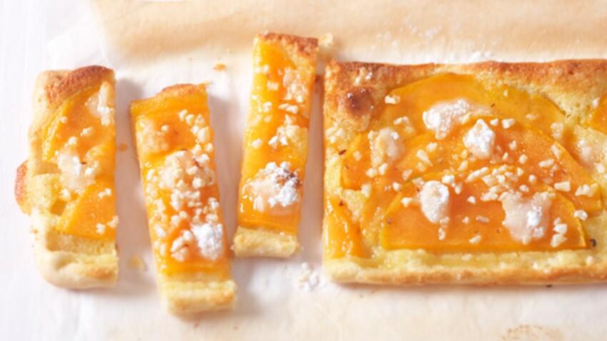 Découvrez la recette de la tarte fine au melon