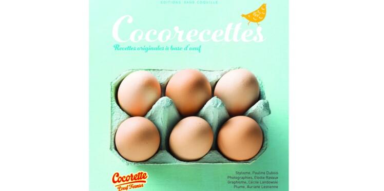 A gagner : 1500 livres de recettes à base d'œuf