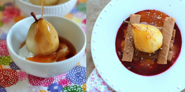Coup de coeur blog : poire pochée ou poire vapeur ?