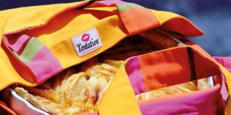 Cédez à la Tentation avec ce joli sac à tarte !