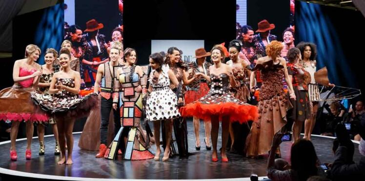 Salon du chocolat 2015: dans les coulisses des robes de choc'