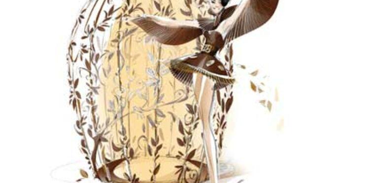 Une robe en chocolat au Baileys présentée au Salon du Chocolat