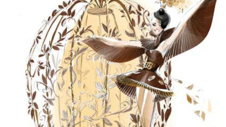 Salon du chocolat : le défilé des robes 2010