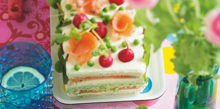 Sandwich-cake, la dernière folie en cuisine