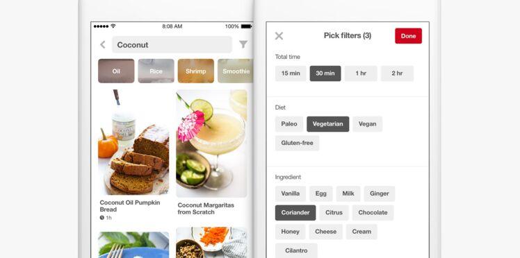 """Lancement d'un """"shazam"""" de la cuisine pour identifier les plats et trouver les ingrédients"""