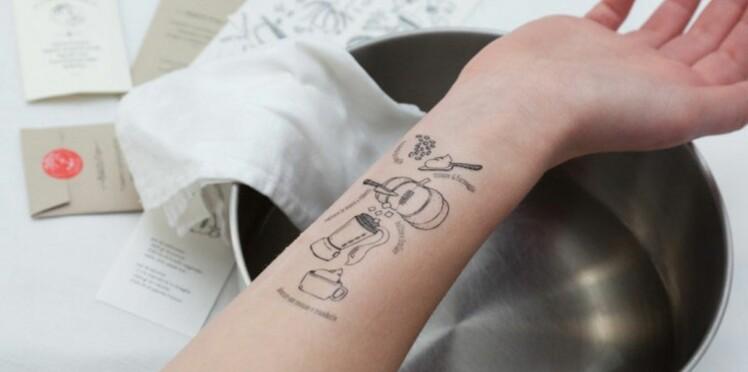 Et si vous vous faisiez tatouer une recette ?