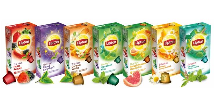 Test du jour : les capsules de thé Lipton