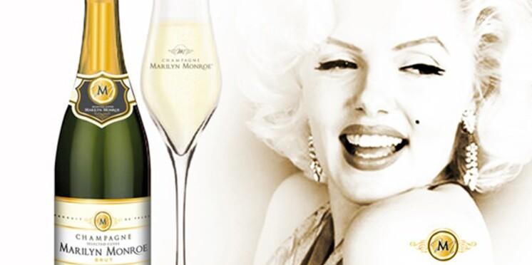 Un champagne à l'effigie de Marilyn Monroe