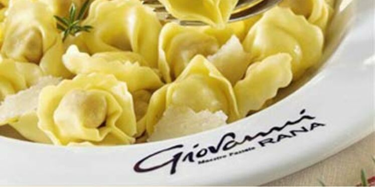 Des pâtes selon Giovanni Rana