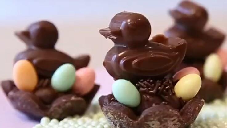 Des mignardises en chocolat pour Pâques