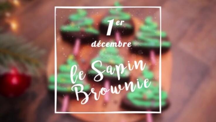 VIDEO - Un brownie sapin pour Noël