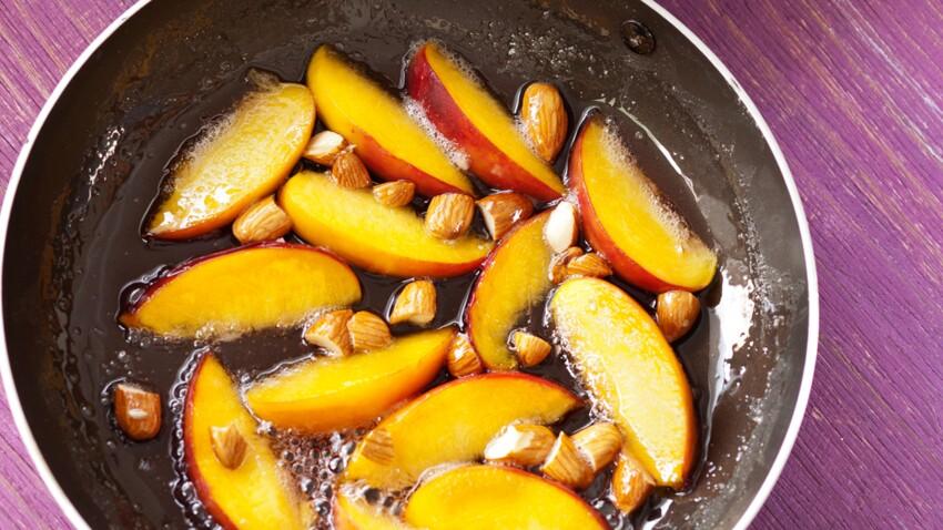 5 desserts originaux avec des fruits poêlés