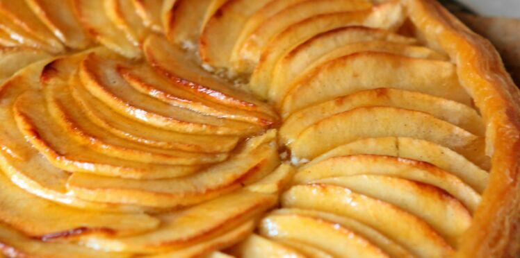 Tarte pâte feuilletée