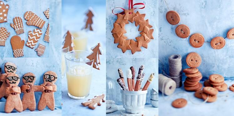 Biscuits de Noël : 6 modèles avec du gingerbread